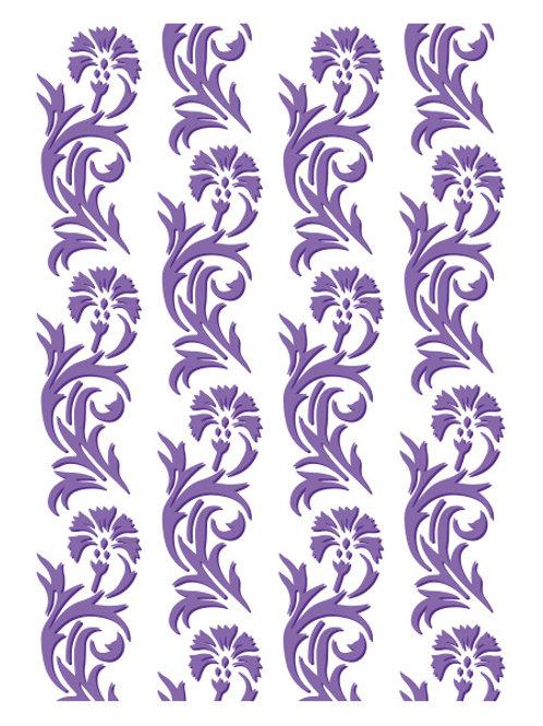 Dandelion Embossing Folder