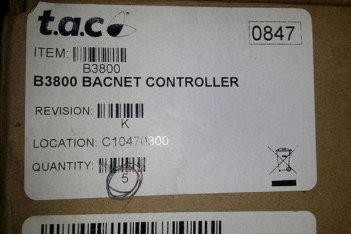 SCHNEIDER ELECTRIC B3800 BACNET CONTROLLER