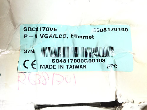 INDUSTRIAL AUTOMATION EHTERNET SBC8170VE