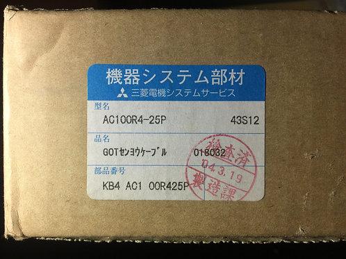 MITSUBISHI CABLE AC100R4-25P