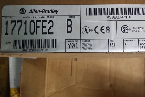 ALLEN BRADLEY ANALOG OUTPUT 1771-OFE2/B