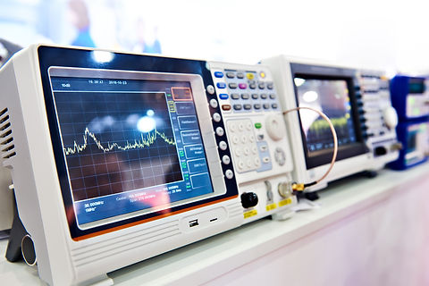Digital spectrum analyzer and electronic