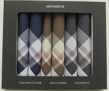 Herren-Taschentücher