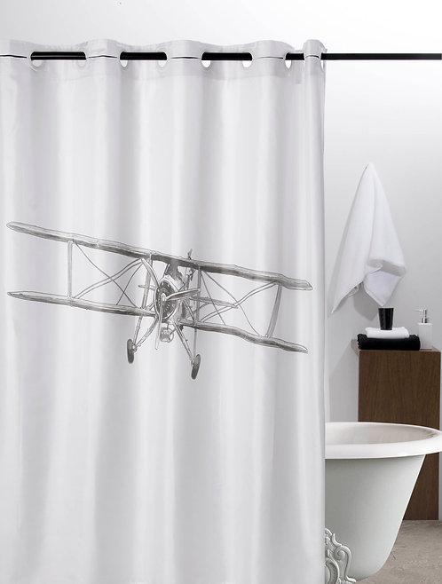 Duschvorhang Flieger