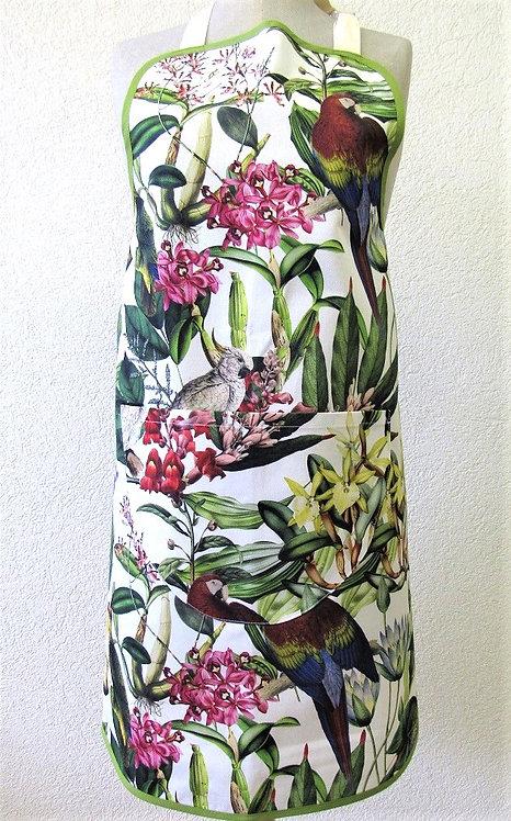 Küchenschurz Orchidee