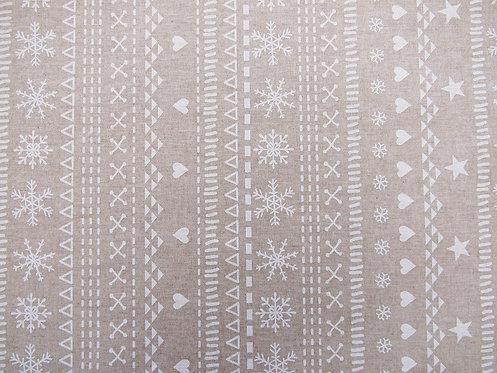 Tischtuch / Set / Läufer Zermatt beschichtet, Stoffbreite 150 cm
