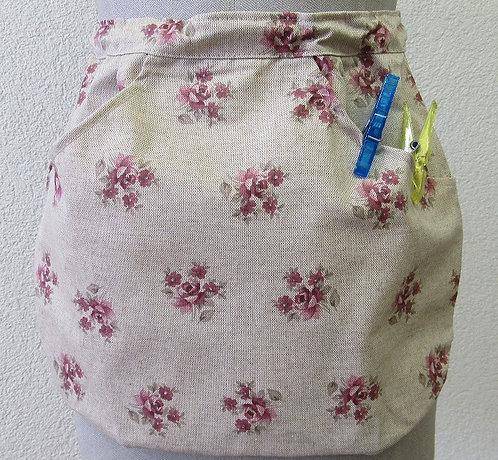 Wäscheklammern-Sack plastifiziert mit Klemmring