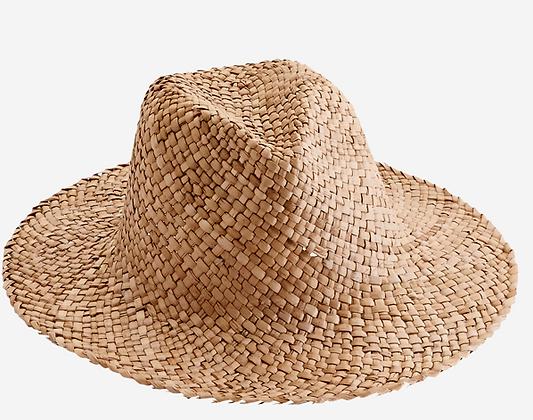 Chapeau boheme en paille