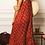 Thumbnail: Robe voile de coton imprimé ikat