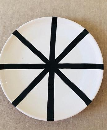 Assiette céramique artisanal Olhao