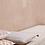 Thumbnail: Coussin pompons imprimé ikat