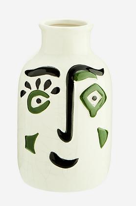 Vase Face Grès