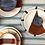 Thumbnail: Assiette céramique artisanal Olhao