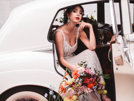 Subtle Rock N' Roll | Stylized Bridal