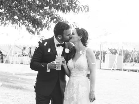 Mark and Liz's Wedding Day on a Flower Farm in New York