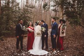 Sayda and Angelo's Winter Wedding
