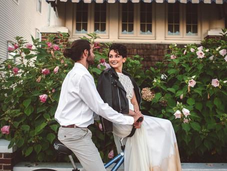 Love in a Leather Jacket | Stylized Bridal | Ocean City, NJ