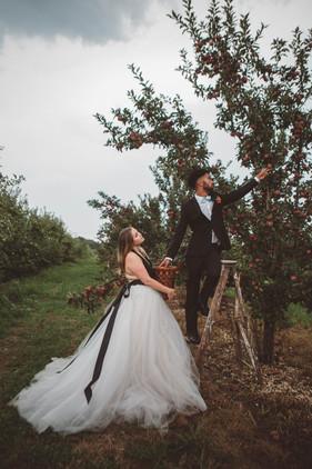 South Jersey Orchard Fall Wedding