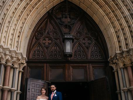Julie and Warren's Wedding at the MAAS Building | Philadelphia, PA