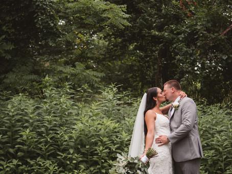 Brittany and AJ's Backyard Wedding | Levittown, PA