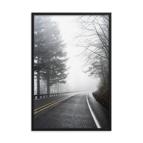 """On the Road"" by Melissa Toledo, 24""x36"" - framed photo poster"