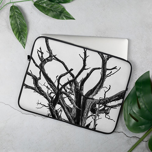 """Old Weathered Tree"" by Melissa Toledo - Laptop Sleeve"