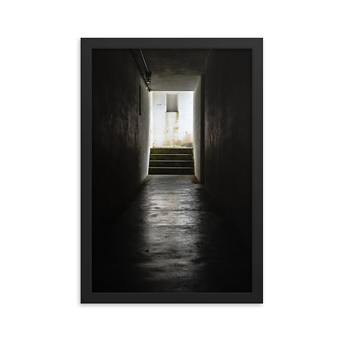 """""""Tunnel"""" by Melissa Toledo, 12""""×18"""" - framed photo poster"""
