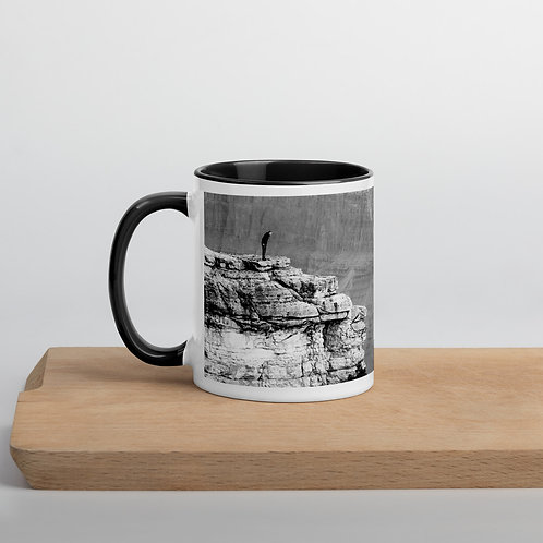 """Canyon Overlook"" by Melissa Toledo - Mug with Color Inside"