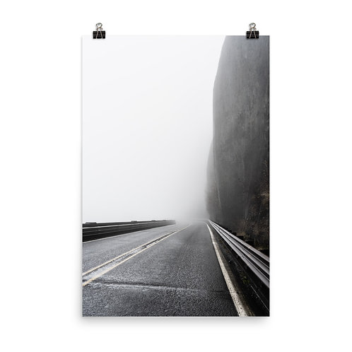 """On the Road"" by Melissa Toledo, #1106, 24""x36"" - photo poster"