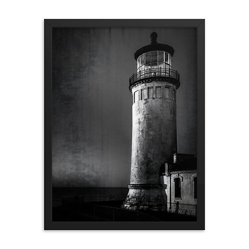 """Lighthouse"" by Melissa Toledo, 18""×24"" - framed photo poster"