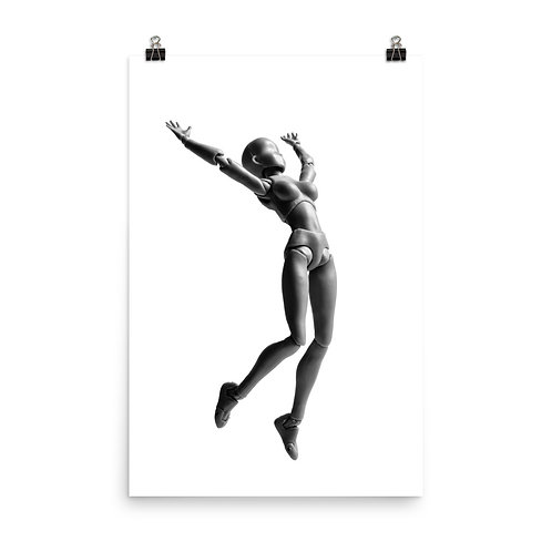 """""""Jumping Doll 1"""" by Melissa Toledo, 24""""×36"""" - photo poster"""