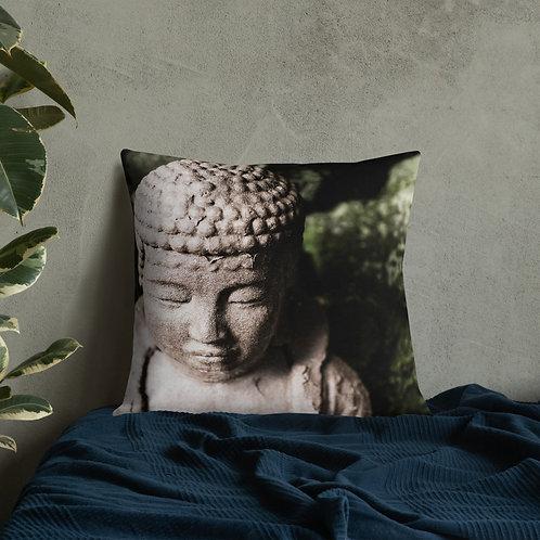 """Buddha"" by Melissa Toledo - Premium Pillow"