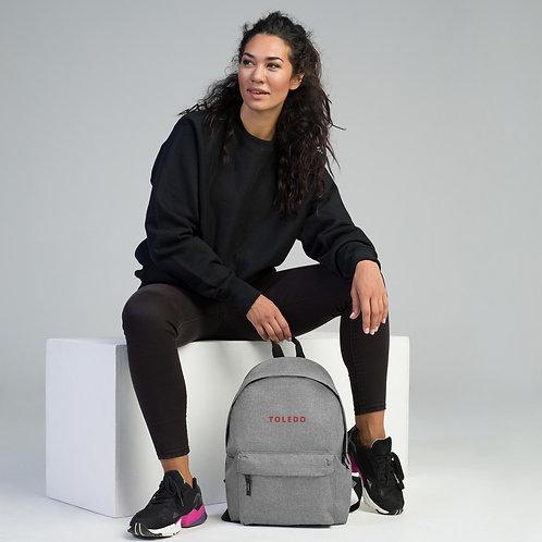 """TOLEDO"" - Embroidered Backpack"