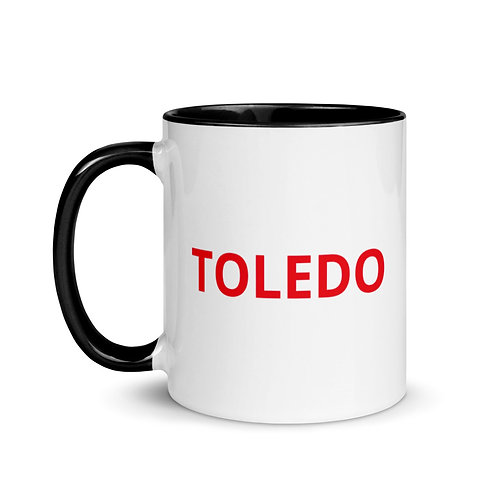 """TOLEDO"" Mug with Color Inside"