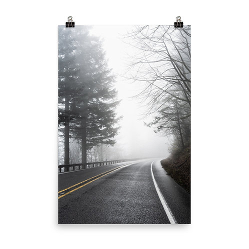 """On the Road"" by Melissa Toledo, #1103, 24""x36"" - photo poster"
