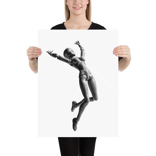 """""""Jumping Doll 2"""" by Melissa Toledo - Photo paper poster"""