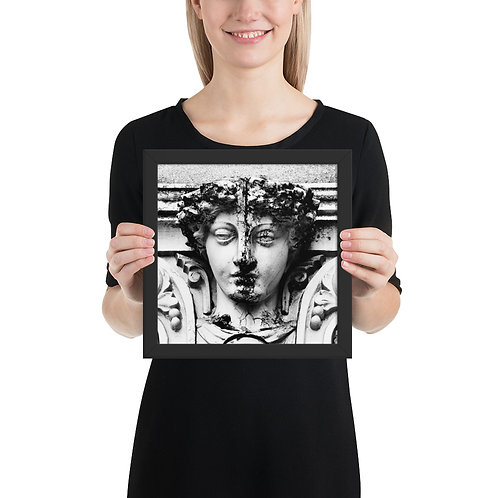 """Ornament"" by Melissa Toledo - framed giclée poster"