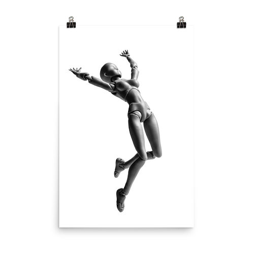"""Jumping Doll 2"" by Melissa Toledo, 24""×36"" - photo poster"