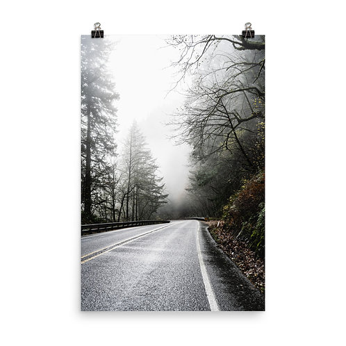 """""""On the Road"""" by Melissa Toledo, #1102, 24""""x36"""" - photo poster"""
