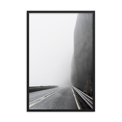 """""""On the Road"""" by Melissa Toledo, #1106, 24""""x36"""" - framed photo poster"""
