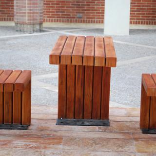 Mobiliario con diseño especial