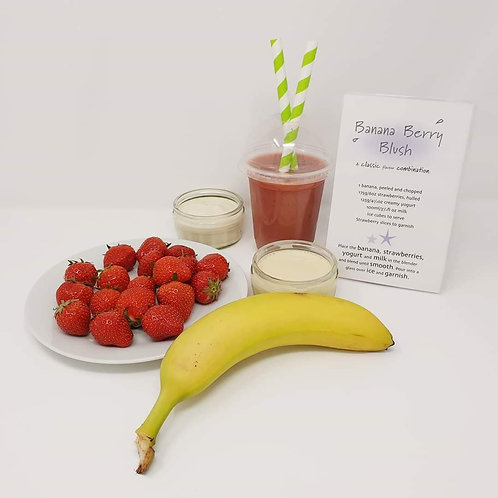 Banana Berry Blush Smoothie Kit