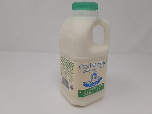 Semi Skimmed Milk - 2 Litres