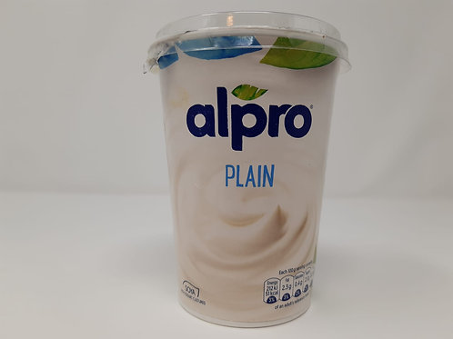 Alpro plain yoghurt 500g