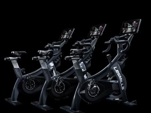 Major players in group fitness hit the gym floor: the Les Mills Virtual Bike