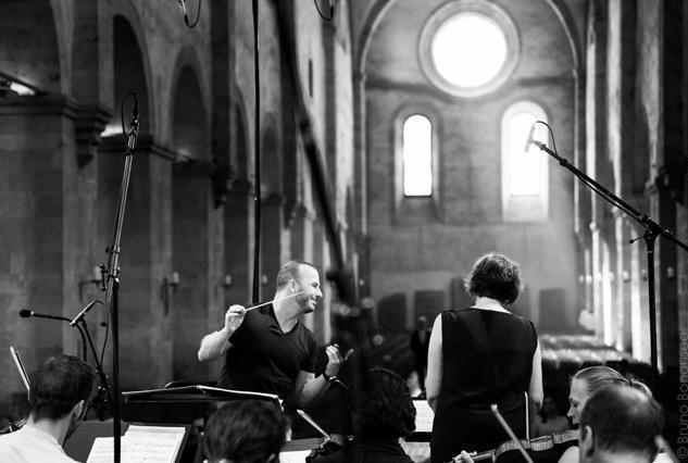 Rehearsal with Yannick Nezet Seguin