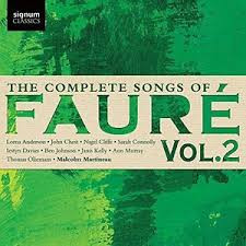 FAURE, 'The complete songs of Faure, Vol 2'
