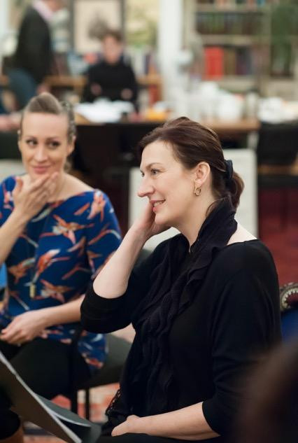 Brenda Rae and Sarah Connolly in rehearsals for Fantasio