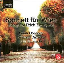 KORNGOLD, 'Sonnett fur Wien'