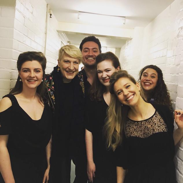Backstage - Theodora, Handel